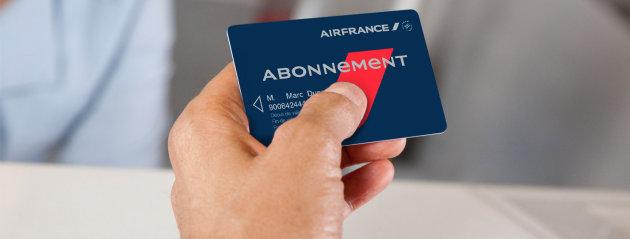 Le prix de la carte d'abonnement Air France pour les entreprises a été divisé par deux. DR