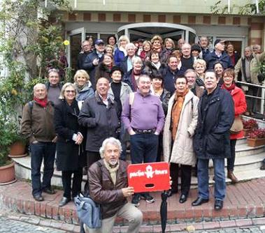 60 membres de l'AFST en voyage à Istanbul avec Pacha tours