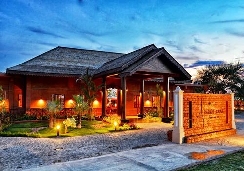Le Bagan Lodge Hôtel, 4*, est situé au coeur d'un site archéologique bouddhiste de 4 200 temples - Photo DR