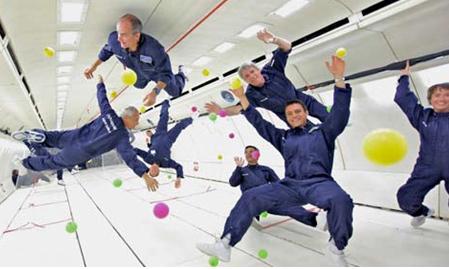 Autre terrain de jeu pour Avico : l'espace. Le courtier assure la commercialisation des vols Air Zéro G - DR