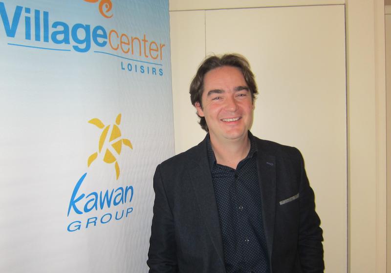 Olivier Ganivenq, le président de Vacalians compte poursuivre son développement en France et en Europe. DR
