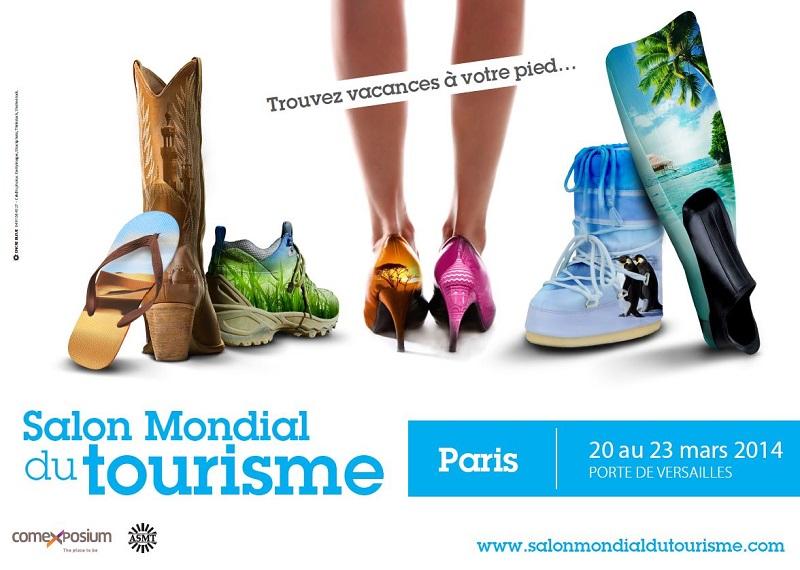 Le Salon Mondial du Tourisme 2014 qui se tiendra du 20 au 23 mars 2014 à Paris-Expo, Porte de Versailles, accueillera un nouveau pôle « Technologies et Tourisme ».