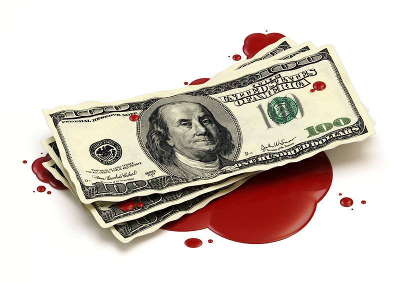 """C'est quoi un(e) cost killer : c'est tout bête, pas besoin de faire HEC. Il suffit de diriger une grande société, de regarder ses fournisseurs avec un sourire carnassier et de leur dire : """"je veux 20% de réduction sur tous les prix"""" - © ras-slava - Fotolia.com"""