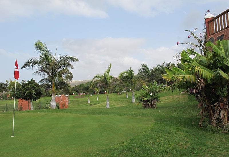 Le golf 9 trous du Top Club Callao - DR : A.B.