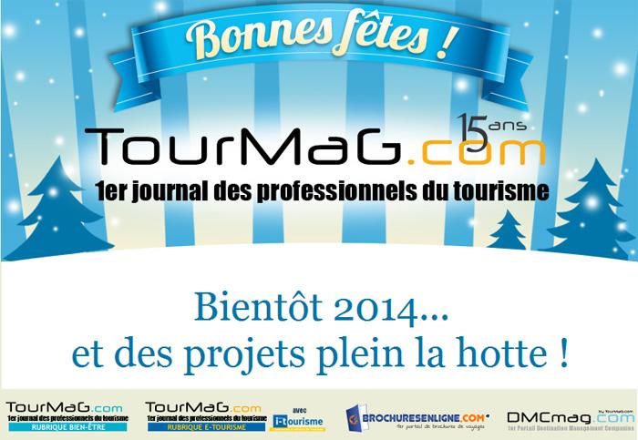 TourMaG.com vous souhaite une bonne et heureuse année 2014