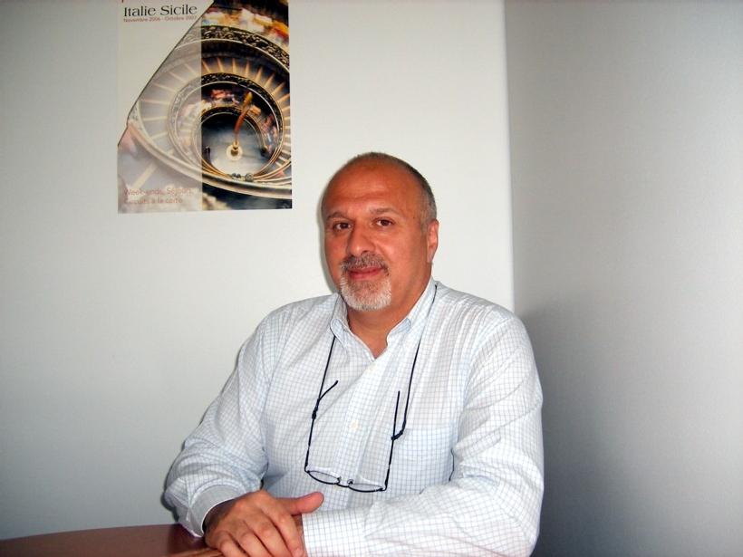 Marco Savarese, patron d'Italique (cliquer pour agrandir)