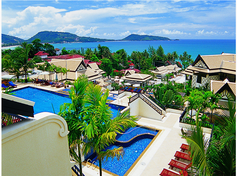 The Blue Marine Resort and Spa Phuket a bénéficié d'un important programme de rénovation - DR : Centara Hotels and Resorts