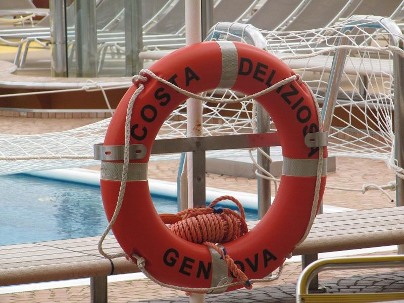 Les passagers qui ton choisi l'itinéraire complet passeront 100 jours et 99 nuits à bord du Costa Deliziosa - Photo P.C.