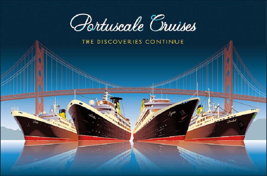 Portuscale dispose d'une flotte de 4 navires dont l'ex Princess Danae, devenu M/V Lisboa - DR