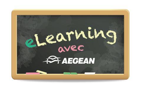 Pour se démarquer, la compagnie aérienne Aegean Airlines, qui opère dans un rayonnement de 4 heures autour d'Athènes, lance un e-learning.