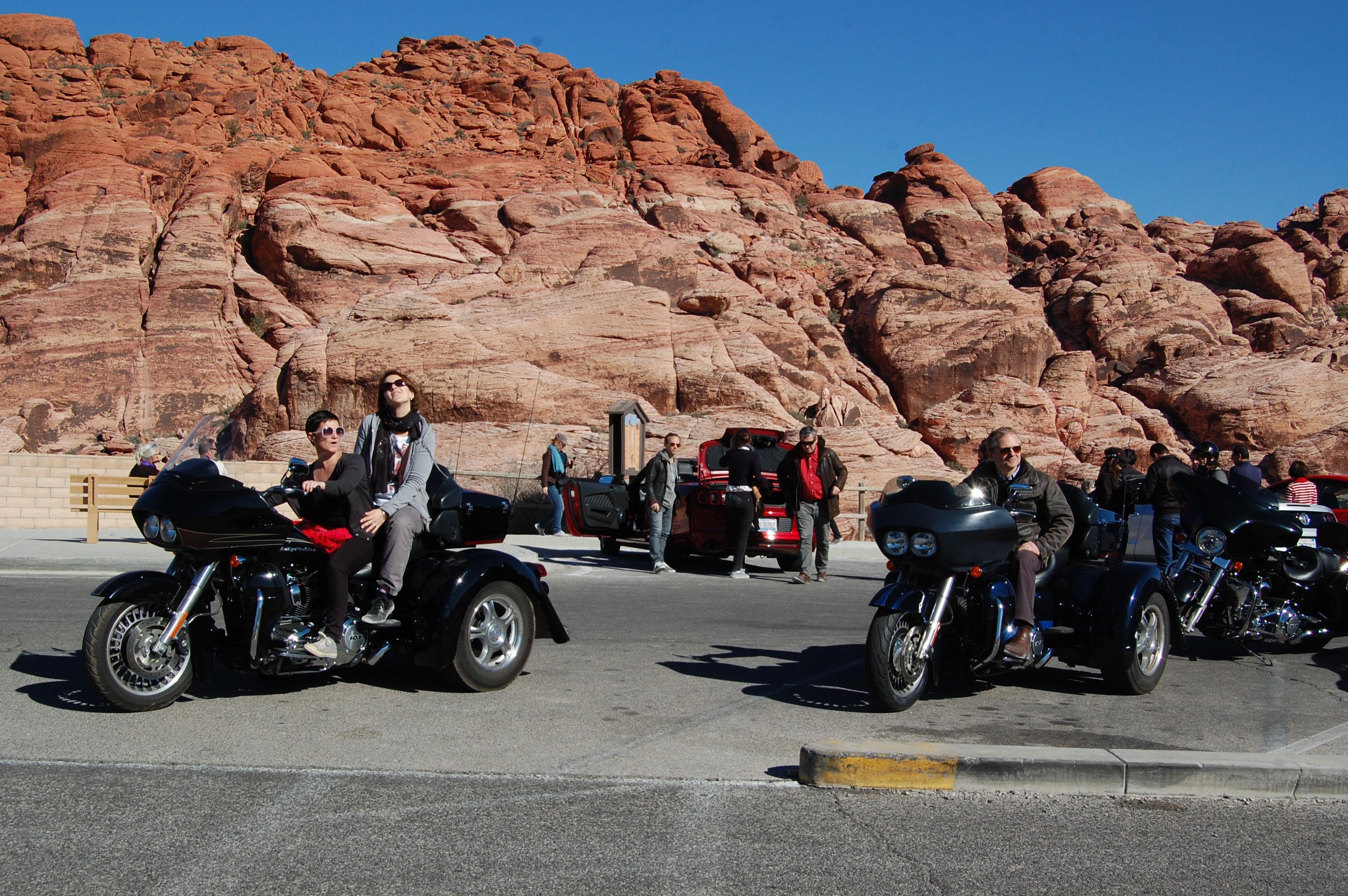 Trike, Harley et Ford Mustang : les Millionnaires Boiloris ont fait chauffer le bitume !! - DR