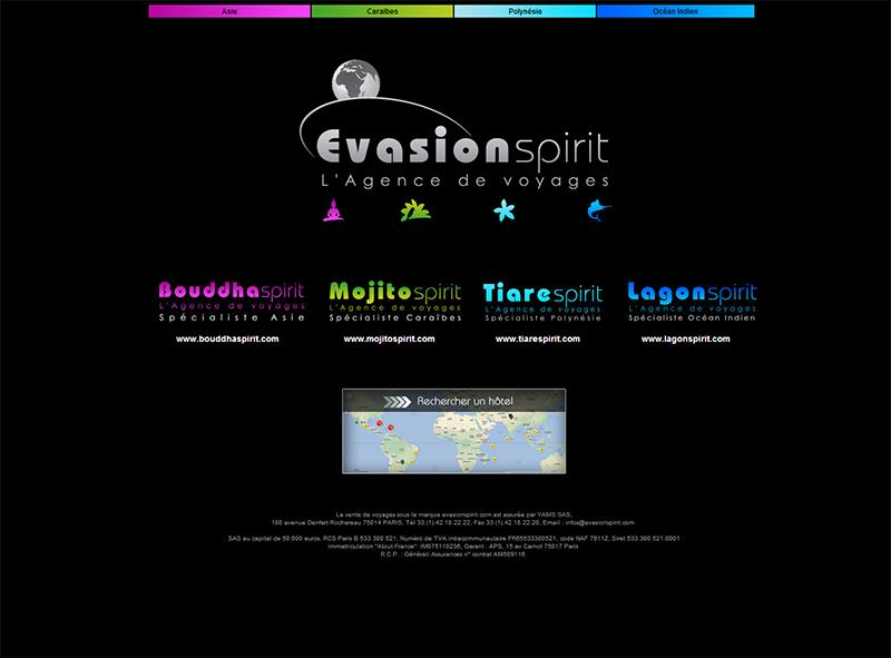 D'ici quelques mois, le portail devrait s'enrichir avec la création d'Océanie Spirit, Macadam Spirit et Mazel Spirit - DR : Evasion Spirit