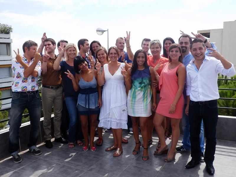 L'équipe de Plein Vent Voyages à Saint-Laurent-du-Var (06) - Photo DR