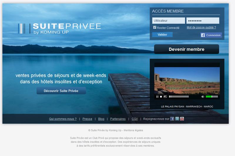 Suite-Privee.com revendique 300 000 membres