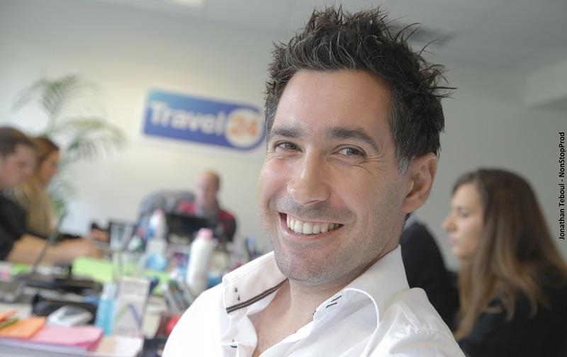 Vincent Luna, directeur général France de Travel 24