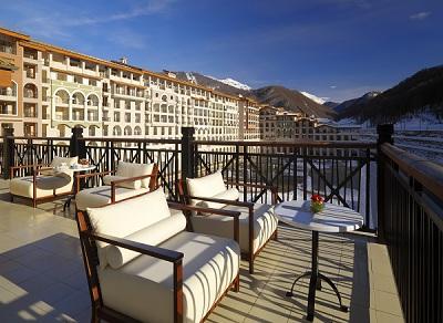 Le Sochi Marriott Krasnaya Polyana Hotel, 5*, ouvre ses portes un peu avant les JO d'Hiver 2014 - Photo DR