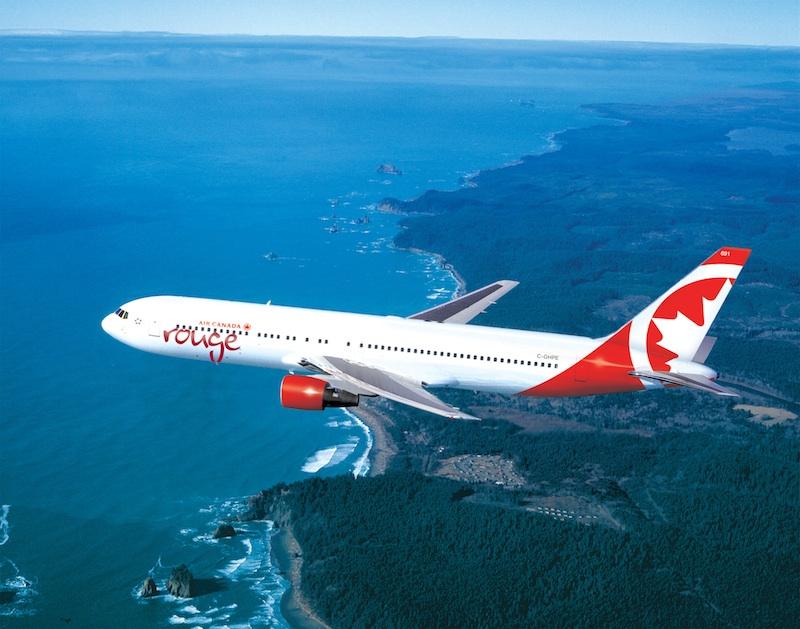 Les Niçois vont pouvoir s'envoler pour Montréal à bord d'un B 737-300 de la nouvelle compagnie Air Canada Rouge. DR