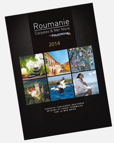 Brochure 2014 : Pouchkine Tours met la Roumanie à l'honneur