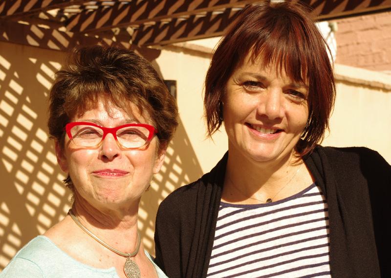 Maggy Patot et Valérie Bellon - DR