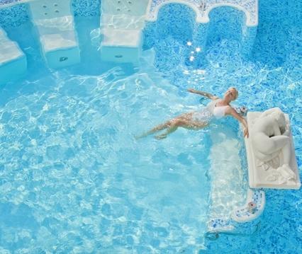 Chaque hôtel du groupe a sa source d'eau thermale et ses bassins de maturation d'argile - DR : Thermae GB Hotels
