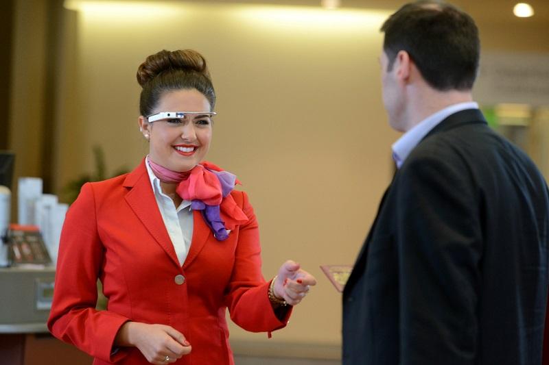 © Virgin Atlantic Les passagers de la classe Affaires seront accueillis par une hôtesse ultra-connectée.