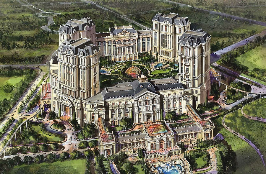 The result is an exuberant celebration of art and architecture stemming from the two-way cultural exchange between Europe and Macau.