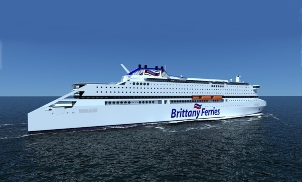 PEGASIS, the next Brittany Ferries ship will be the spearhead of a new generation of environmentally friendly ships. DR
