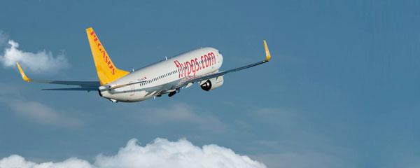 Pegasus Airlines s'envole vers Koweït et Simferopol (Ukraine)