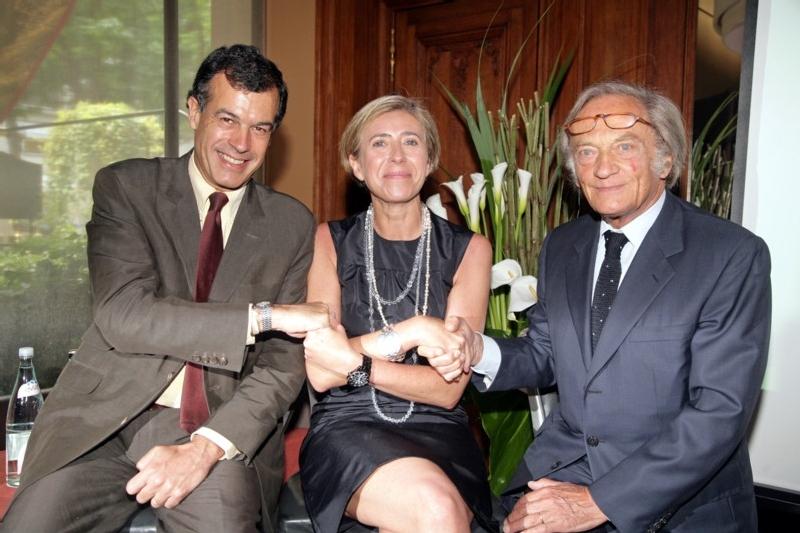 H.G. d'Estaing, Laurence Clément-Berman et Philippe Tesson (cliquer pour agrandir)