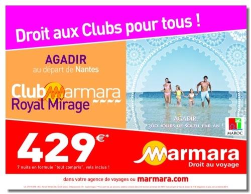 Campagne : Marmara prône le ''Droit aux Clubs pour tous''