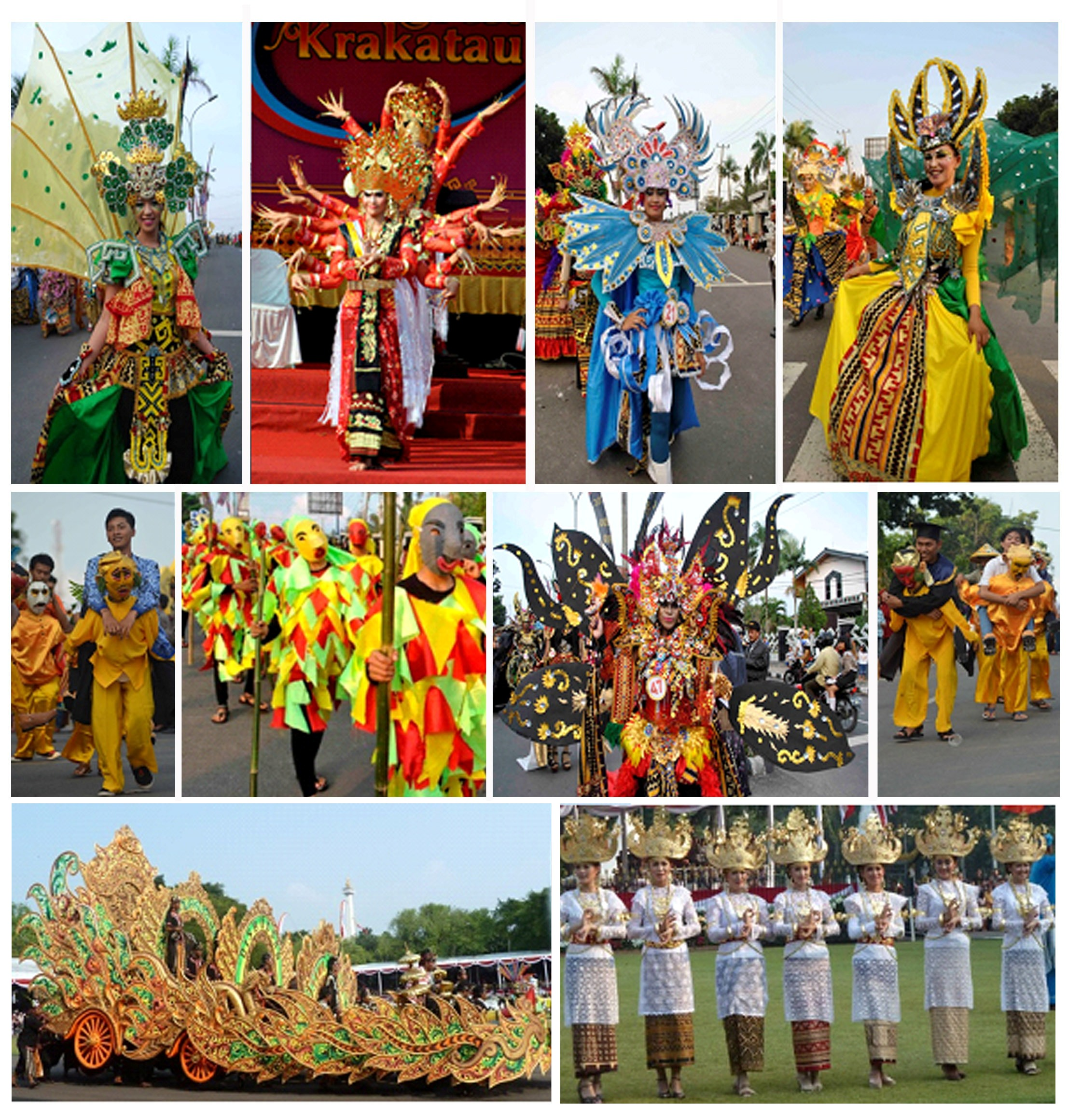 Carnival in Seychelles : The Power of Nature 'Krakatau Heritage' will be bringing a new dimension to the 2014 edition