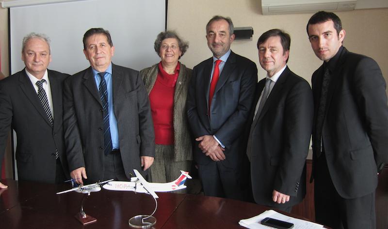 HOP! et Air Corsica vont offrir 44 liaisons directes en commun, soit une offre estivale de 230 000 sièges, en hausse de 25% - DR : LAC