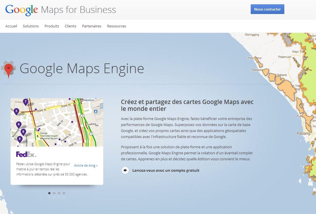 Google vient de mettre en ligne un nouveau service de personnalisation de carte, Google Maps Gallery - DR