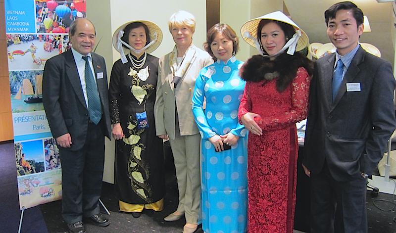 L'équipe d'Asia Destinations est venue en France pour présenter ses produits aux agences de voyages - DR : LAC