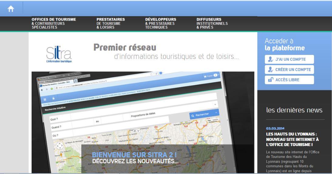 Depuis février, le site a migré vers une nouvelle plateforme plus numérique et plus collaborative : Sitra 2.