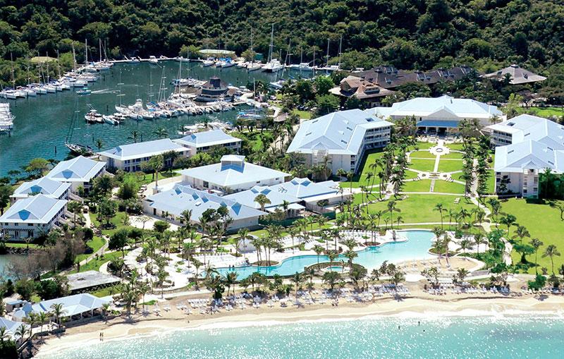 e Riu Palace St. Martin accueillera ses premiers clients au mois de juin prochain. Ce établissement compte 252 chambres. - DR