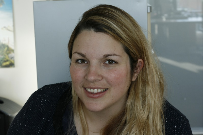 Morgane Pruvot-Morice, la responsable marketing du projet chez Reed expositions