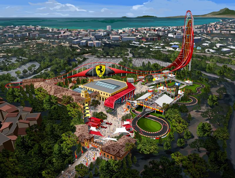 PortAventura va ouvrir un parc à thème Ferrari en 2016
