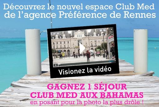 Selectour Préférence Rennes ouvre un corner Club Med