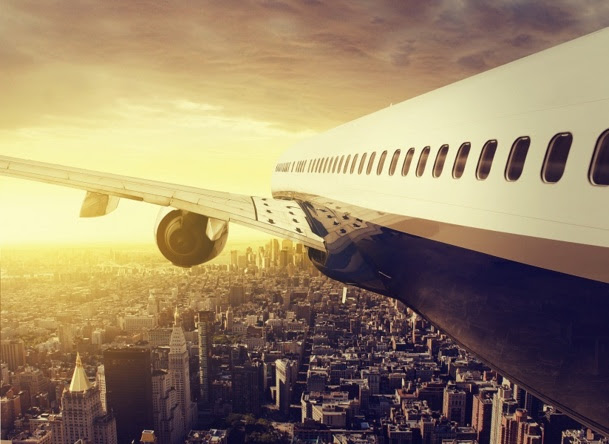 U.S. airlines show numbers that rose sharply in 2013 - DE : © lassedesignen - Fotolia.com
