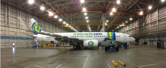 Le nouveau Boeing B737-800 samedi 15 mars 2014 - Photo DR