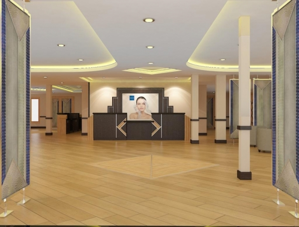 Le Vichy Spa Hôtel de Juvignac comptera 99 chambres et accueillera un spa de 2 600 m² composé de 27 cabines de soins - Photo DR