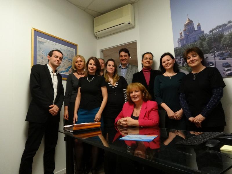L'équipe du bureau parisien de Tsar Voyages - DR : TSV France
