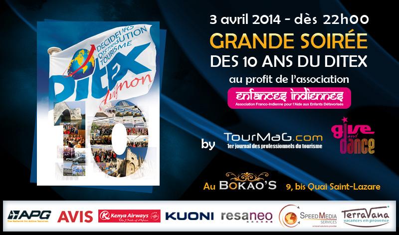 Le DITEX fêtera ses 10 ans au Bokao's, à Avignon. DR