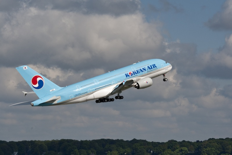Korean Air positionne un A380 entre Paris et Séoul. DR