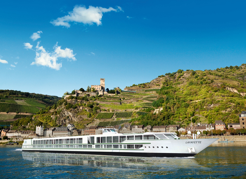 Le nouveau navire MS La Fayette sera inauguré à Strasbourg ce vendredi - DR