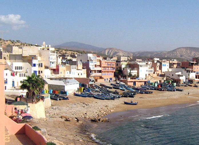 Taghazout, une ville que le Maroc souhaite développer pour accueillir plus de touristes. DR Wikipédia