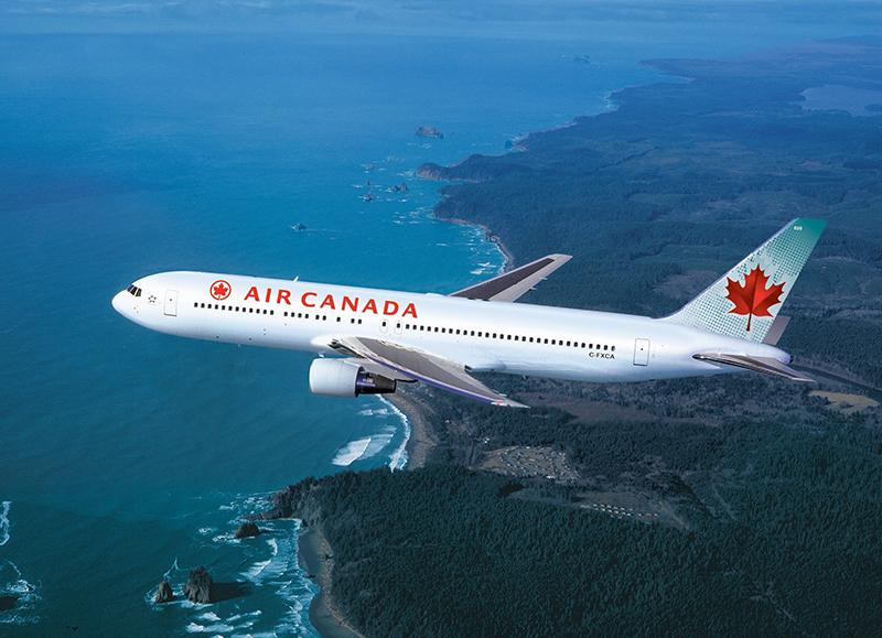 Le trafic aérien potentiel entre la Côte d'Azur et le Canada représente un peu plus de 154 000 pax par an, soit près de la moitié du trafic global vers l'Amérique du Nord - DR