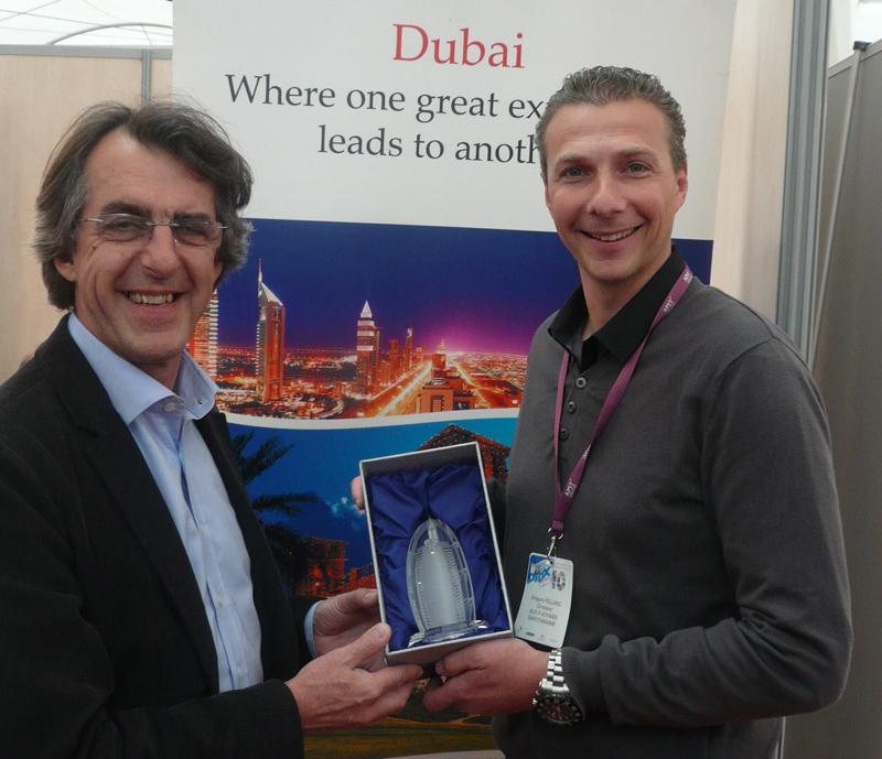 Grégory Rolland (Sud R Voyages) remporte le DubaiXpert