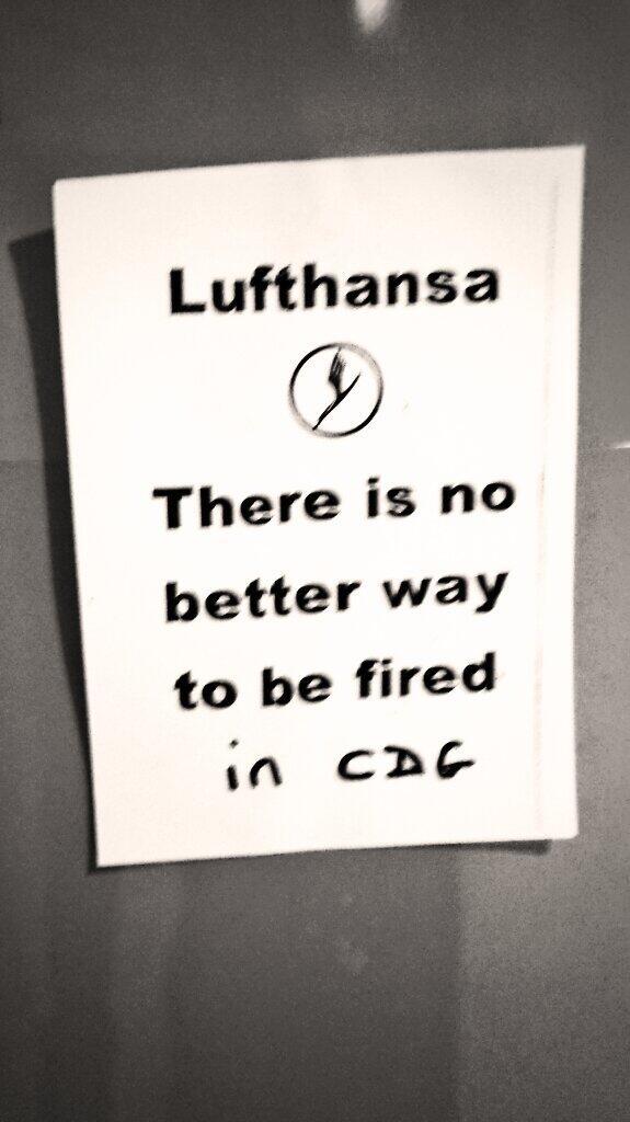 Sur Twitter, les internautes ironisent sur la grève des pilotes de Lufthansa ©fredericmai